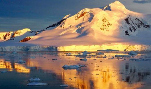 Sunset, Antarctic Peninsula by Emma Magrath