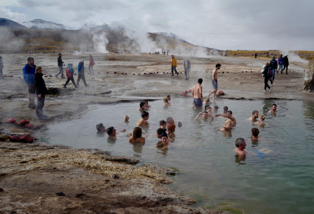 Geysers and Hot Springs by Joseph Reich