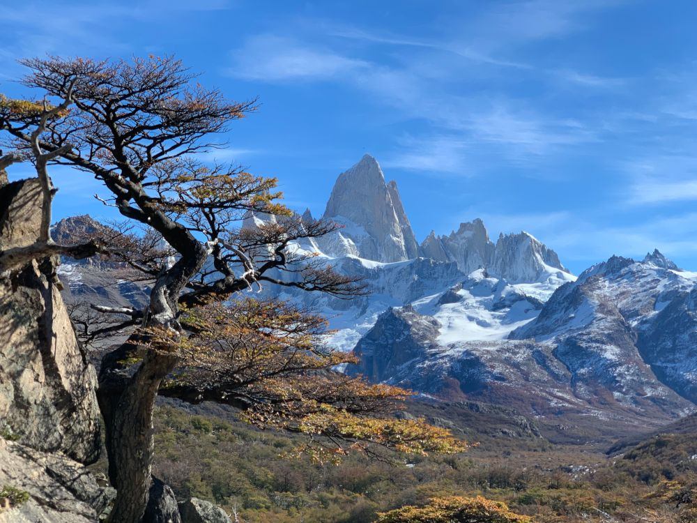 Patagonian Mountains by Vikki Oates