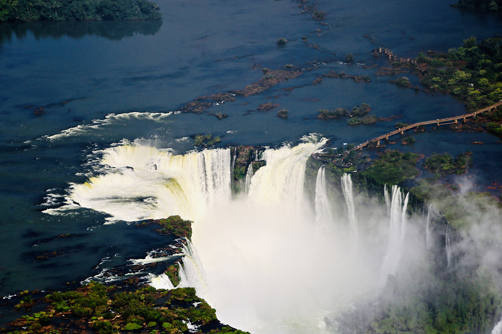Iguazu Falls by Mario Modica
