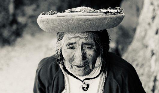 Face of Peru by Mario Modica