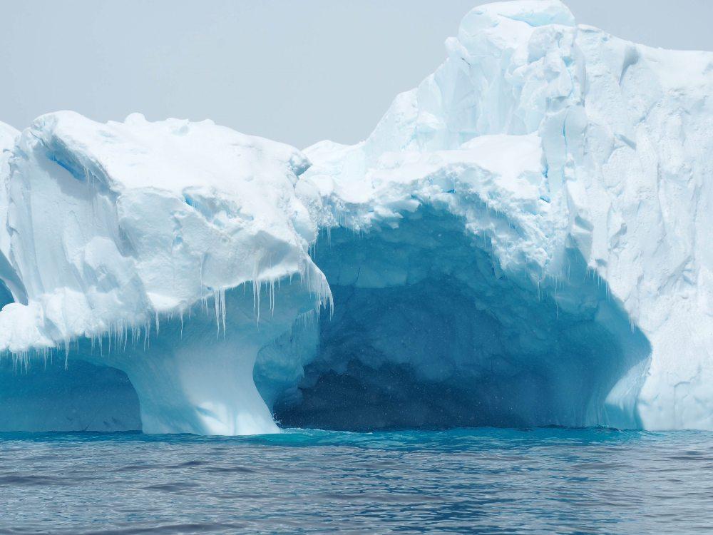 Antarctica Iceberg, Portal Point by Chris James
